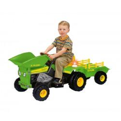 Injusa Elektrický traktor DUMP TRACK 6V