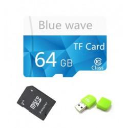 Blue wave Micro SDHC 64GB paměťová karta vysokorychlostní