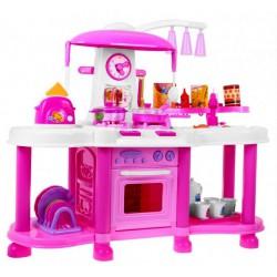 Aga4Kids Plastová kuchyňka FUNNY ZB-6006A Pink