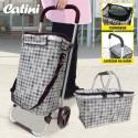Nákupní set CATINI KAUFMANN - nákupní vozík + nákupní košík