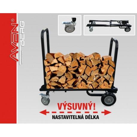 Multifunkční vozík na dřevo AVENBERG Waldhorn