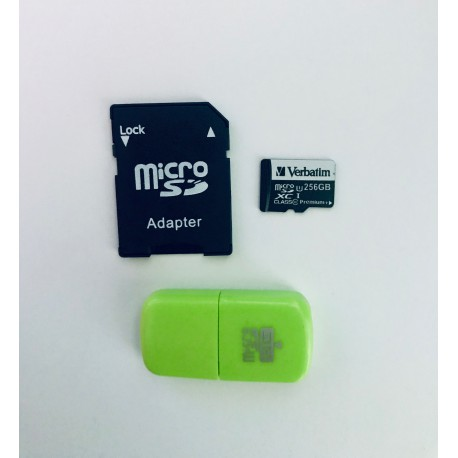 Verbatim Micro SDXC 256GB paměťová karta