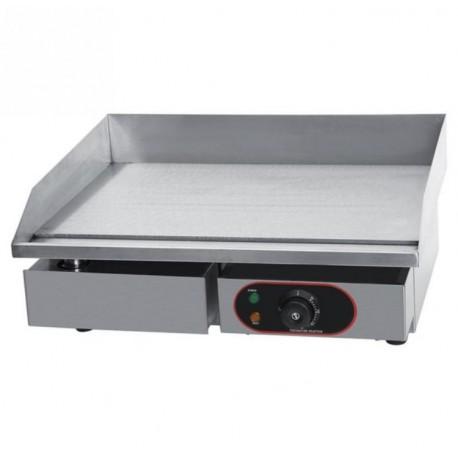 Gastro gril Grilovací deska 3kW, 55x45cm, 230V nerezová plancha Chef
