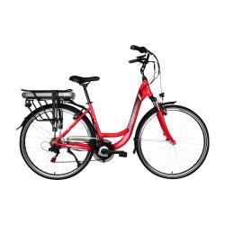 Městské elektrokolo LOVELEC Galaxy Red/Black