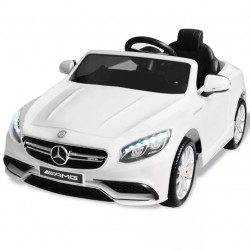 Elektrické dětské auto Mercedes Benz AMG S63 černé 12 V
