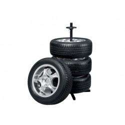 Stojan na pneumatiky, disky