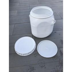 Plastový sud 50 L, 1 x použitý, čistý