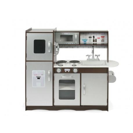 Bayer CHIC 2000 Dětská kuchyňka, hnědostříbrná