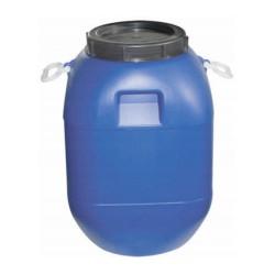 Plastový potravinářský sud 60 L s víkem - 1x použitý