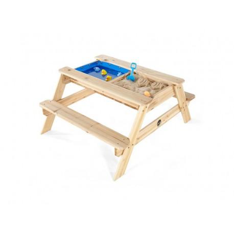 Plum Dětský piknikový stůl s pískovištěm a bazénkem