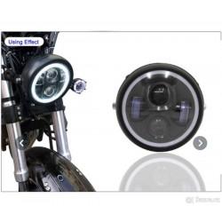 Nové světlo Led na motorku, scrambler, bobber, cafe racer