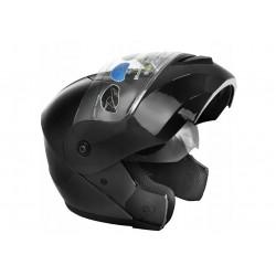 Unisex odklápěcí helma Zipp čarná lesk