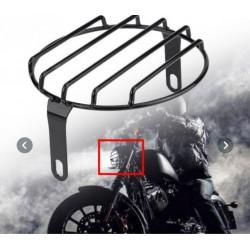 Mřížka na moto světlo, scrambler, boober, chopper, cafe racer