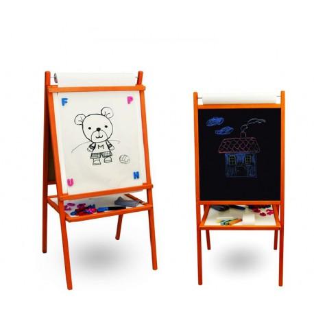 Dětská tabule 4v1 TEDDY 95 cm