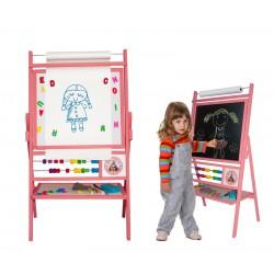 Dětská tabule BIG PINK TPR 100 cm